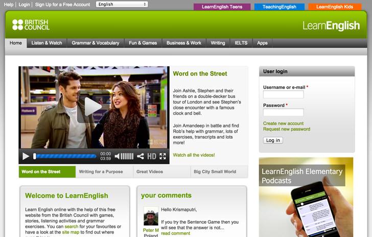 britishcouncil-learnenglish-website
