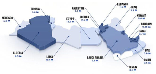 facebook-users-in-millions-for-individual-markets-in-mena